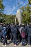 Μνημείο ειρήνης παιδιών στοκ φωτογραφία με δικαίωμα ελεύθερης χρήσης