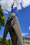 Μνημείο ειρήνης παιδιών ` s στη Χιροσίμα στοκ φωτογραφία με δικαίωμα ελεύθερης χρήσης