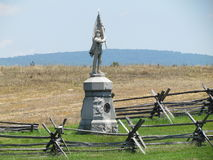 Μνημείο εμφύλιου πολέμου πεδίων μαχών Antietam Στοκ εικόνες με δικαίωμα ελεύθερης χρήσης