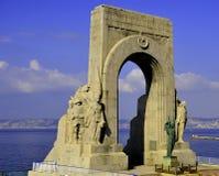 μνημείο ηρώων Στοκ φωτογραφία με δικαίωμα ελεύθερης χρήσης