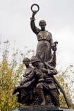 Μνημείο ηρώων, Mizil, Prahova, Ρουμανία στοκ φωτογραφίες