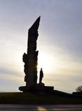 Μνημείο ηρώων Paulis Στοκ Εικόνα