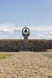 Μνημείο η μητέρα Grieving στο νεκροταφείο Rossoshka Βόλγκογκραντ Στοκ Φωτογραφία
