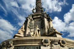 μνημείο Ισπανία της Βαρκε&la Στοκ Φωτογραφίες