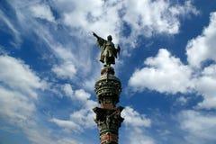 μνημείο Ισπανία της Βαρκε&la Στοκ φωτογραφία με δικαίωμα ελεύθερης χρήσης