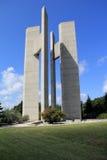 Μνημείο κήπων ειρήνης Στοκ φωτογραφία με δικαίωμα ελεύθερης χρήσης