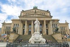 Μνημείο και αίθουσα συναυλιών Schiller Στοκ Εικόνες