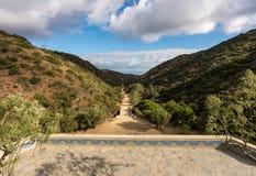Μνημείο και βοτανικοί κήποι Wrigley στη Catalina Island στοκ εικόνα