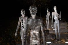 μνημείο κομμουνισμού στα θύματα Στοκ εικόνα με δικαίωμα ελεύθερης χρήσης