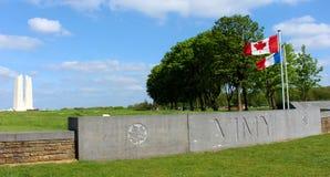 Μνημείο κορυφογραμμών Vimy Στοκ Φωτογραφία