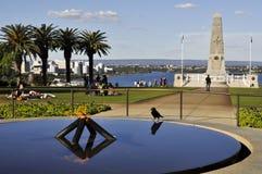 Μνημείο κρατικού πολέμου - Περθ - Αυστραλία στοκ εικόνα με δικαίωμα ελεύθερης χρήσης