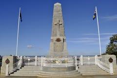 Μνημείο κρατικού πολέμου - Περθ - Αυστραλία στοκ εικόνες