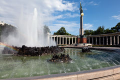 μνημείο κόκκινη Βιέννη ηρώων &sigm στοκ φωτογραφίες με δικαίωμα ελεύθερης χρήσης