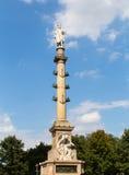 Μνημείο κύκλων του Columbus Στοκ Εικόνες