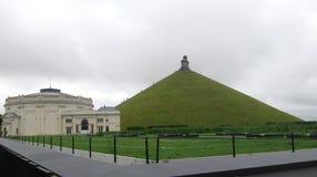 Μνημείο λιονταριών για να τιμήσει την μνήμη της μάχης Napoleon ` s στο Βατερλώ στοκ φωτογραφία με δικαίωμα ελεύθερης χρήσης