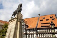 Μνημείο λιονταριών του Brunswick στοκ εικόνα με δικαίωμα ελεύθερης χρήσης