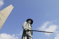 μνημείο λόφων αποθηκών Στοκ Φωτογραφίες