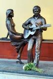 μνημείο μαρινών vlady σε vysotsky vladimir Στοκ Φωτογραφίες