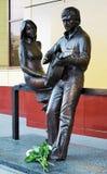 μνημείο μαρινών vlady σε vysotsky vladimir Στοκ εικόνες με δικαίωμα ελεύθερης χρήσης