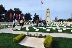 Μνημείο μαρτύρων για το 57ο σύνταγμα πεζικού, Canakkale, Τουρκία Στοκ φωτογραφίες με δικαίωμα ελεύθερης χρήσης