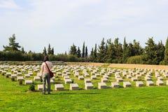 Μνημείο με τα ονόματα σε Anzac Τουρκία Στοκ εικόνες με δικαίωμα ελεύθερης χρήσης