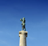 Μνημείο νίκης Βελιγραδι'ου, Pobednik Στοκ Εικόνες