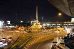 Μνημείο νίκης, Μπανγκόκ, Ταϊλάνδη Στοκ Φωτογραφία
