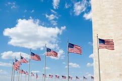 μνημείο Ουάσιγκτον σημα&iota Στοκ φωτογραφία με δικαίωμα ελεύθερης χρήσης