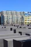 Μνημείο ολοκαυτώματος (γερμανικά: Ολοκαύτωμα-Mahnmal) στοκ φωτογραφία με δικαίωμα ελεύθερης χρήσης