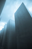 μνημείο ολοκαυτώματος του Βερολίνου Στοκ εικόνα με δικαίωμα ελεύθερης χρήσης