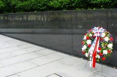Μνημείο παλαιμάχων Πολέμων της Κορέας Στοκ εικόνες με δικαίωμα ελεύθερης χρήσης