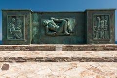Μνημείο πεσμένης Στοκ εικόνα με δικαίωμα ελεύθερης χρήσης