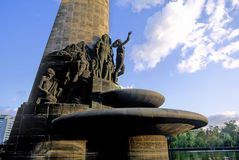 Μνημείο πετρελαίου Στοκ εικόνα με δικαίωμα ελεύθερης χρήσης