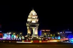 Μνημείο Πνομ Πενχ Καμπότζη ανεξαρτησίας Στοκ Εικόνες