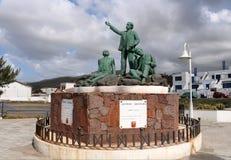 Μνημείο ποιητών (Monumento ένα Los Poetas) Στοκ εικόνες με δικαίωμα ελεύθερης χρήσης