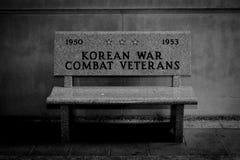 Μνημείο Πολέμων της Κορέας Στοκ εικόνα με δικαίωμα ελεύθερης χρήσης