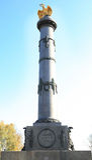 μνημείο Πολτάβα δόξας Στοκ φωτογραφίες με δικαίωμα ελεύθερης χρήσης