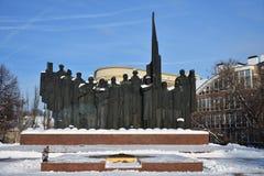 Μνημείο που αφιερώνεται στην ήττα των ναζιστικών στρατευμάτων κοντά σε Voronezh Ρωσία στοκ εικόνα με δικαίωμα ελεύθερης χρήσης