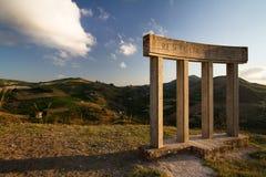 Μνημείο που αφιερώνεται στην ενωμένη Ιταλία Στοκ εικόνα με δικαίωμα ελεύθερης χρήσης