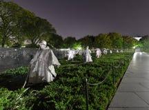 Μνημείο Πολέμων της Κορέας, Ουάσιγκτον, συνεχές ρεύμα Στοκ Εικόνες