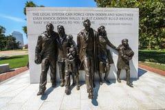 Μνημείο πολιτικών δικαιωμάτων της Βιρτζίνια Στοκ εικόνα με δικαίωμα ελεύθερης χρήσης