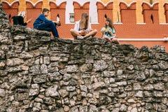 Μνημείο προς τιμή τη νίκη πέρα από Napoleon - καταστροφές grotto Στοκ φωτογραφίες με δικαίωμα ελεύθερης χρήσης