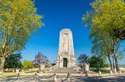 Μνημείο Πρώτου Παγκόσμιου Πολέμου στο Angouleme, Γαλλία Στοκ φωτογραφίες με δικαίωμα ελεύθερης χρήσης