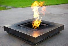 μνημείο πυρκαγιάς Στοκ φωτογραφία με δικαίωμα ελεύθερης χρήσης