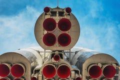 Μνημείο - πύραυλος Vostok Στοκ εικόνα με δικαίωμα ελεύθερης χρήσης