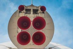 Μνημείο - πύραυλος Vostok Στοκ Φωτογραφίες