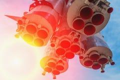 Μνημείο - πύραυλος Vostok Στοκ Εικόνα