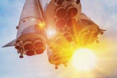 Μνημείο - πύραυλος Vostok Στοκ Εικόνες