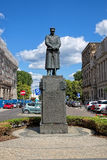 Μνημείο σε πολωνικό Marshal Jozef Pilsudski στη Βαρσοβία Στοκ Εικόνες