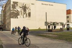 Μνημείο σε Bernauer strasse Στοκ φωτογραφίες με δικαίωμα ελεύθερης χρήσης